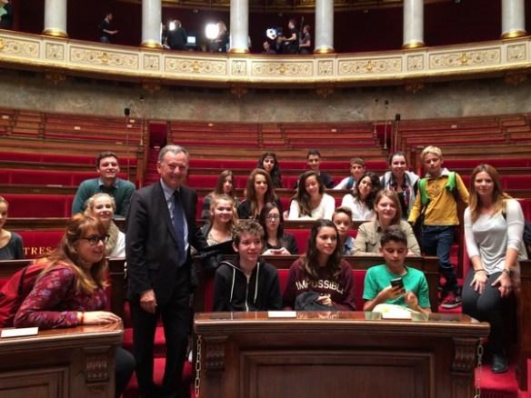2014.10.21 AN - visite de jeunes faliconnais