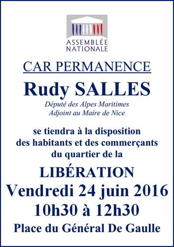 Car permance - Libération vendredi 24 juin 2016