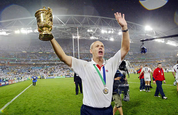 Clive Woodward is the only England Rugby coach to have won a world cup