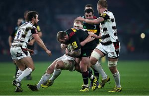Joe Marler has extended his contract with Harlequins
