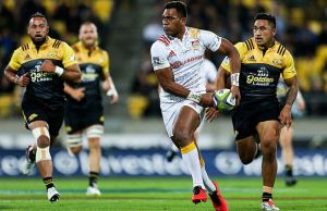 Seta Tamanivalu scored two tries for the Chiefs
