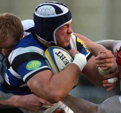 Dave Attwood has committed his future to Bath
