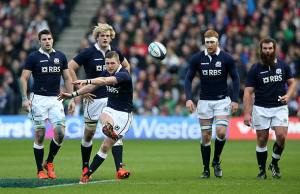 Finn Russell returns to the Scotland side after missing South Africa due to injury