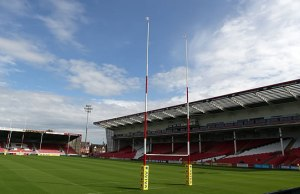 Gloucester Rugby host Harlequins at Kingsholm