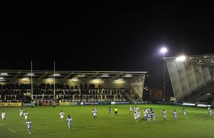 Newcastle Falcons host Leicester Tigers at Kingston Park