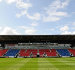 Sale Sharks host Newcastle Falcons at the AJ Bell stadium