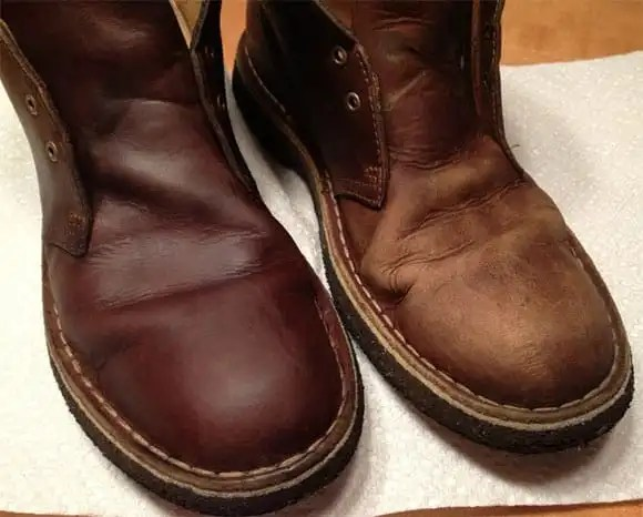 Apply Mink Oil Leather Shoes