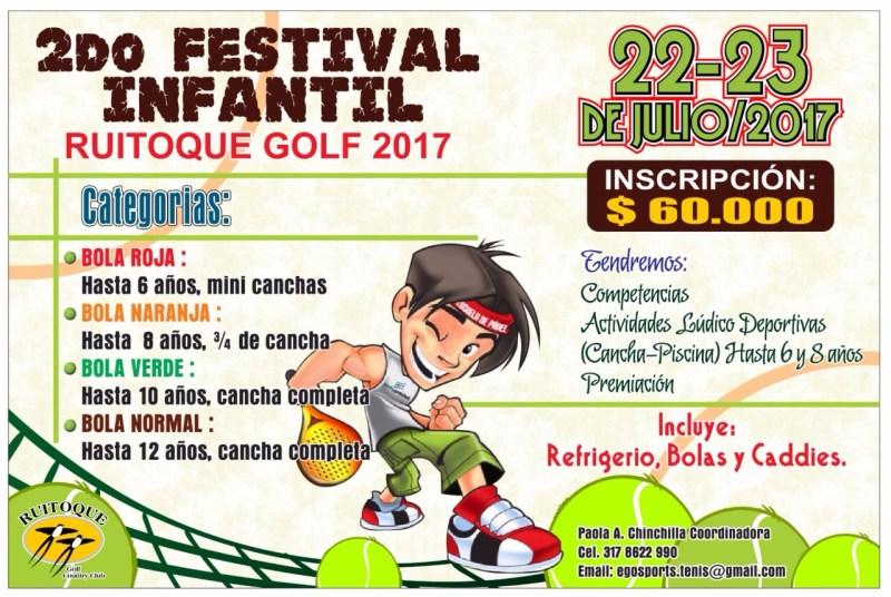 Afiche 2do Festival Infantil 2017