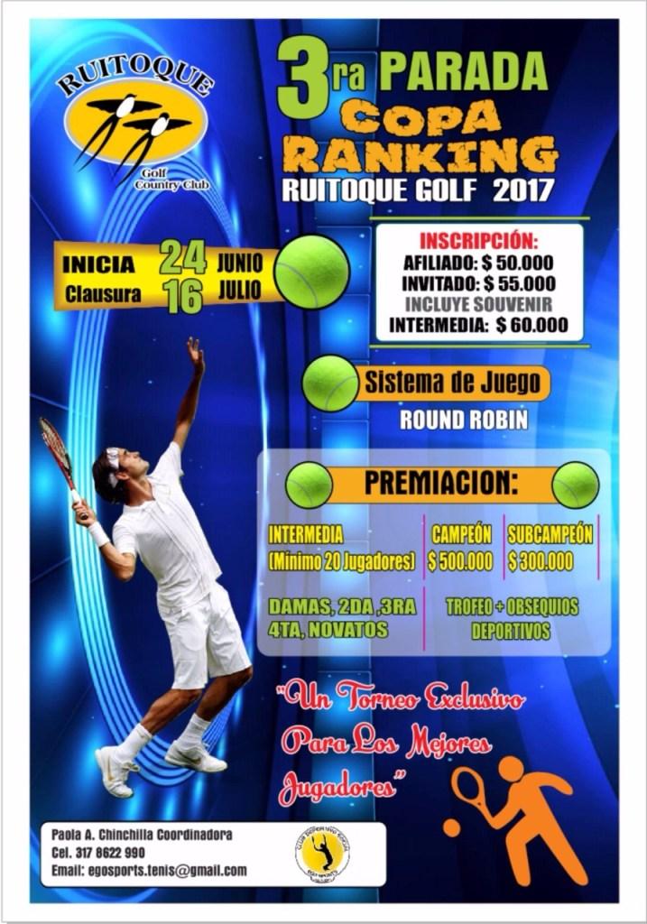 Afiche 3ra Parada Copa Ranking 2017