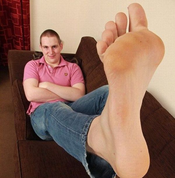 Самая большие ноги