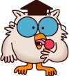 Photo of Tootse Pop owl cartoon