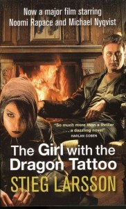 Photo of Girl with the Dragon Tattoo Swedish movie poster