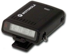 Photo of Motorola pager