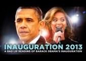 2013 Inauguration Speech – A Bad Lip Reading