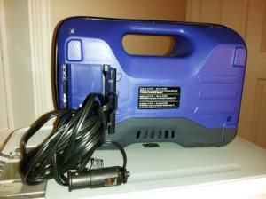Photo of Kobalt Dual Power Inflator 12V power cord and plug
