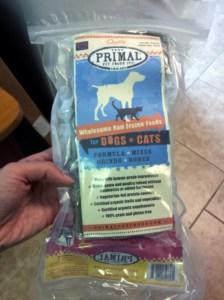 raw food diet primal sampler
