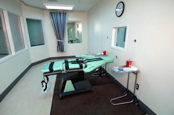 The San Quentin Lethal Injection Room
