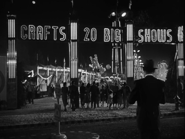 Crafts front gate Starring in Hitchcock film Strangers on a Train 1951