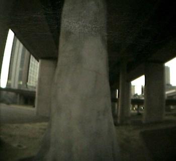 Observing Uncertainty: Underpass, 200x150 cm, inkjet on paper, 2010