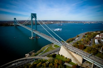 The Verrazano-Narrows Bridge. Photo by Fergal Carr.