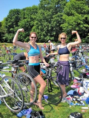 first triathlon, swim, bike, run