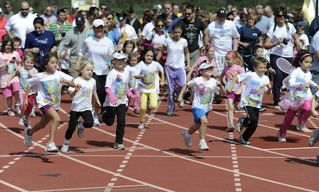 Royal Family Kids' Races Start