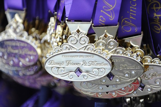 Disney's Princess Half Marathon Medals