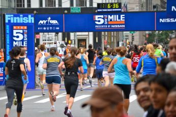 Fifth Avenue Mile, NYRR, running, New York City