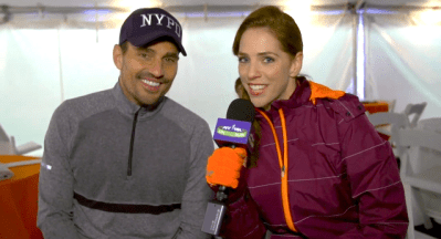 Interviewing Bill Rancic at the 2013 ING New York City Marathon
