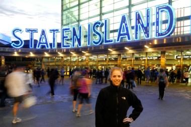 Staten Island Half-Marathon, Staten Island Ferry Terminal