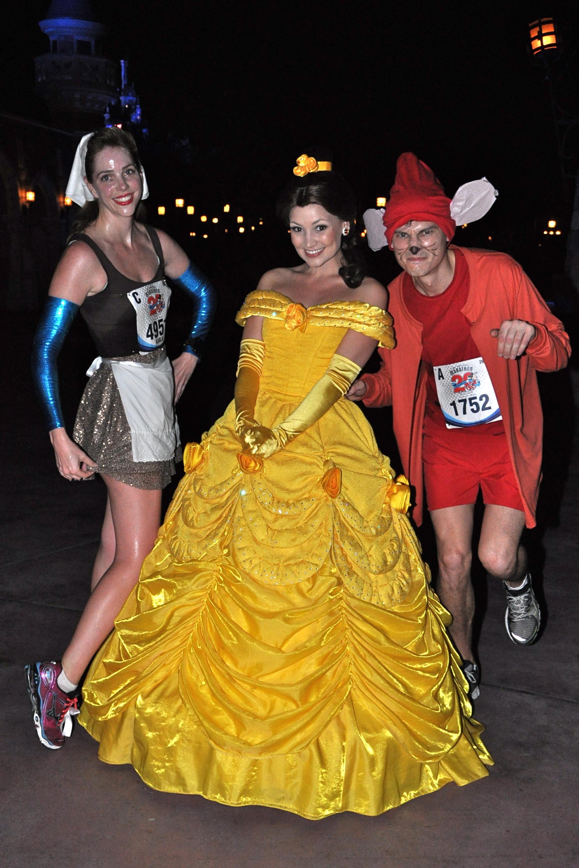 Walt Disney World Marathon run Disney Disney running running costume running costumes. Cinderella ...  sc 1 st  Run Karla Run! & How To Make Cinderella u0026 Jacques Running Costumes - Run Karla Run ...