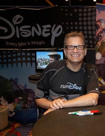 celebrity runners, Disney marathon, Drew Carey, Disneyland Half Marathon