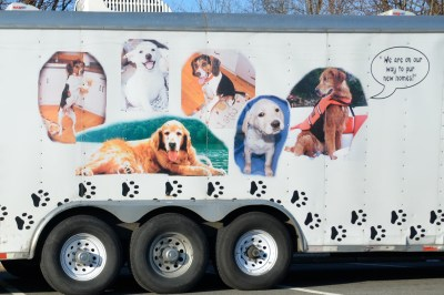 PETS LLC, dog transport truck