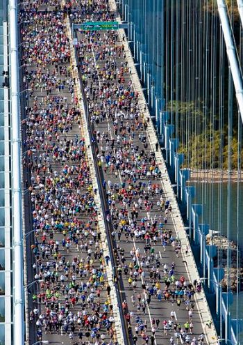 ING New York City Marathon, ING NYC Marathon, marathon lottery, Verrazano-Narrows Bridge