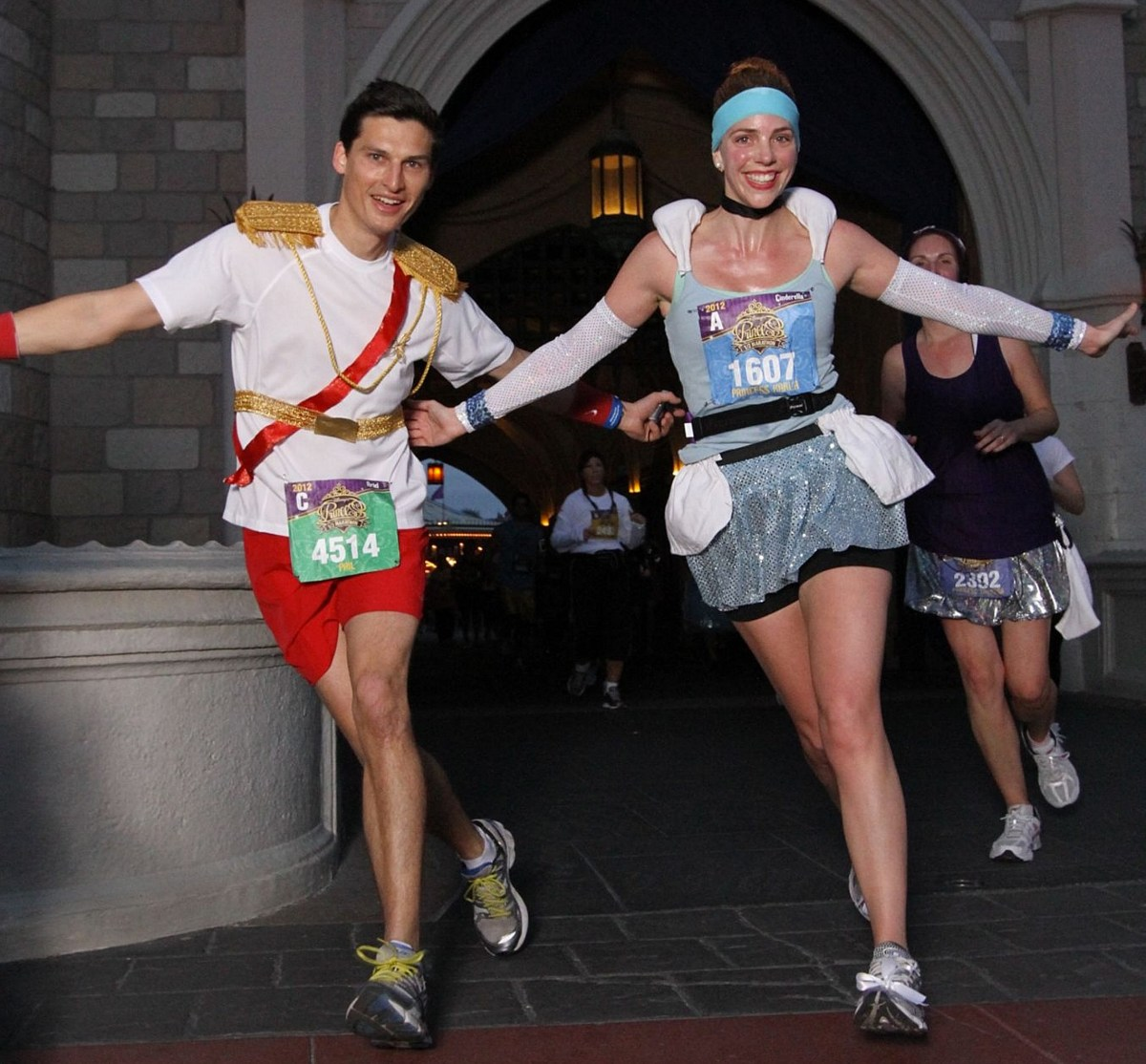 How To Make Cinderella & Prince Charming Disney Running Costumes