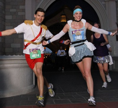 Disney's Princess Half Marathon, most fun race, running races, Cinderella running costume