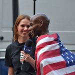 VIDEO: 'On The Run' at NYC Half Visits Bernard Lagat