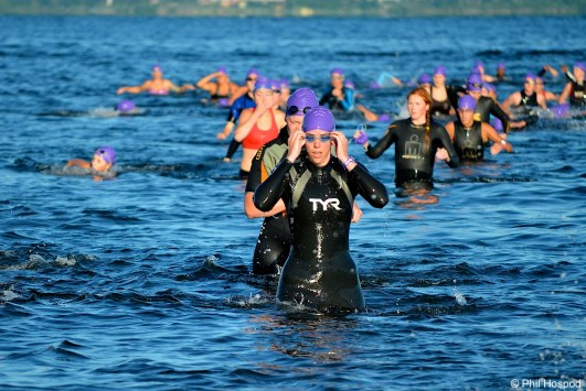 Wild Dog Triathlon, swim