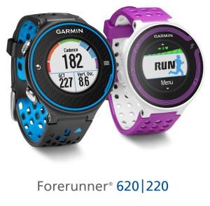 Garmin Forerunner 620, Garmin Foreruner 220, GPS watch
