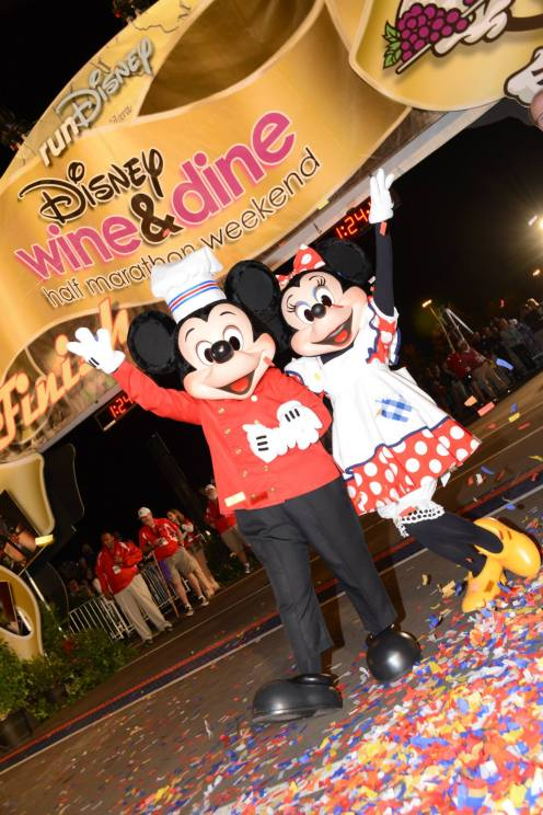 wine run, Disney Wine & Dine Half Marathon