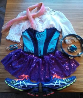 Disney running costumes