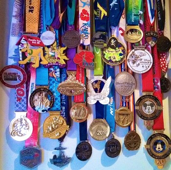 How to make a race medal display