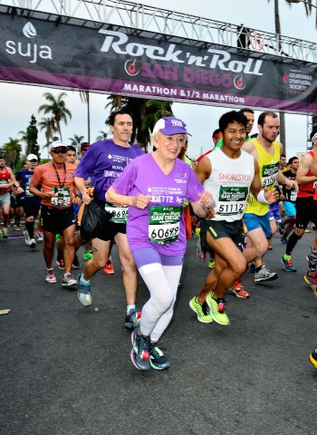 91-Year-Old Runs Age Group World Record Marathon