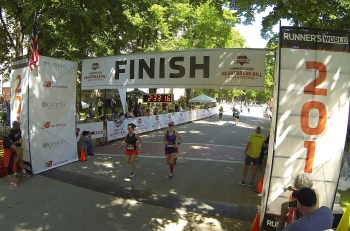 Race Report: Runner's World Heartbreak Hill Half