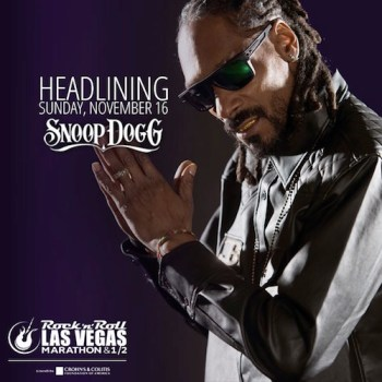 Snoop Dogg Headlines Rock 'n' Roll Las Vegas Marathon