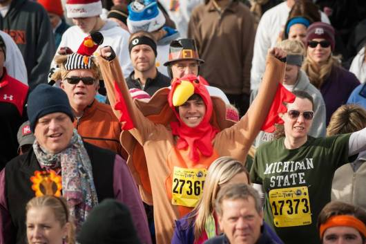 Run A Thanksgiving Day Turkey Trot Or Food-Themed Race