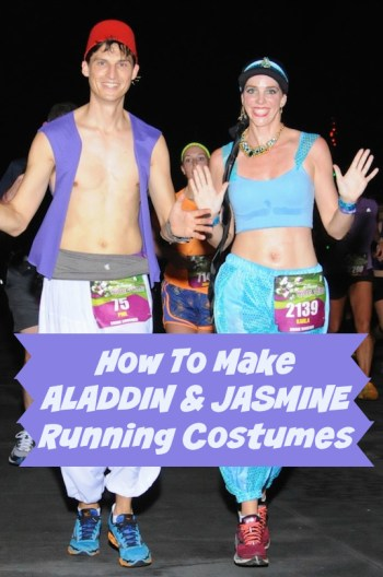 How To Make An Aladdin & Jasmine Running Costume