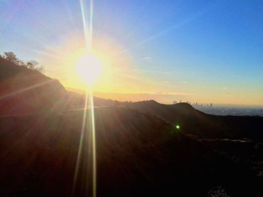 A Griffith Park Run To The Hollywood Sign Sunrise