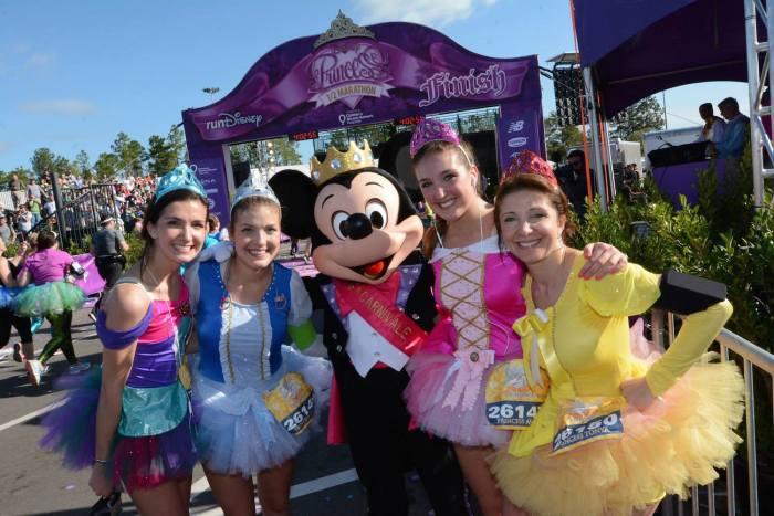 Run Disney Princess Half Marathon 2016 For Charity