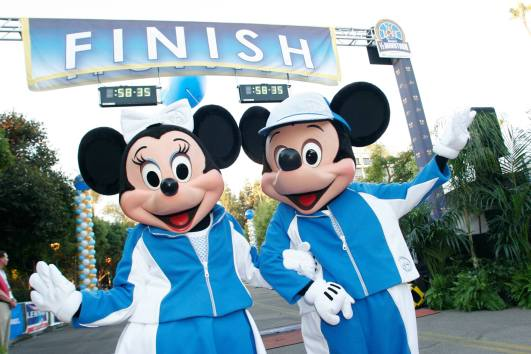 3 Disney Parks, 3 Disney Races